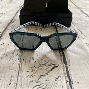 NWOT Prada Blue Camo sunglasses